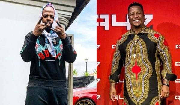DJ Maphorisa and DJ Fresh celebrate 2020's new year in June