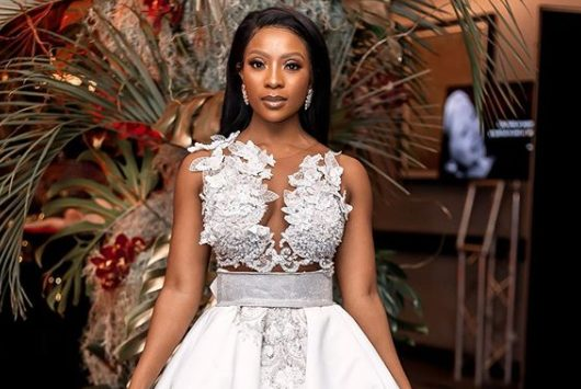 Pearl Modiadie is reportedly pregnant