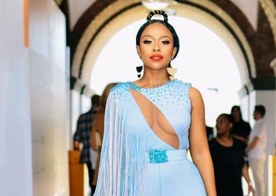 Check Out Nomzamo Mbatha BET Awards look