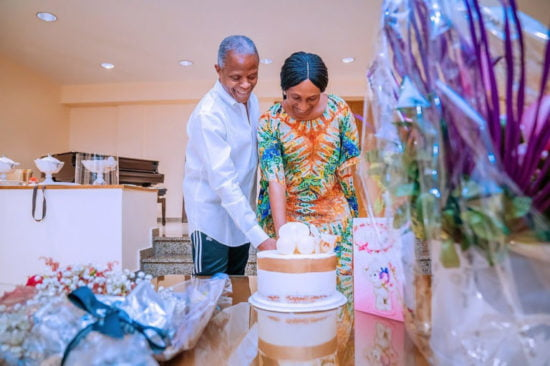 Yemi Osinbajo celebrates his wife, Dolapo, on her birthday
