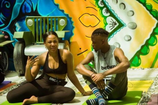 BBNaija Kaisha advises Laycon to confess his feelings to Erica