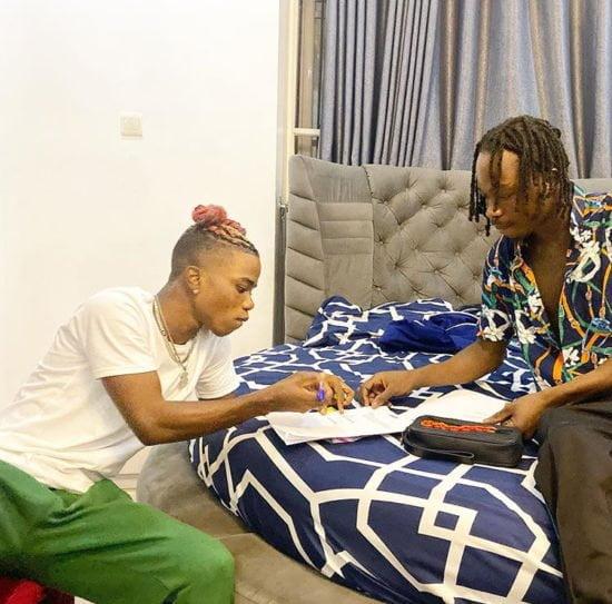 """Lyta joins Naira Marley record label """"Marlian Music"""""""