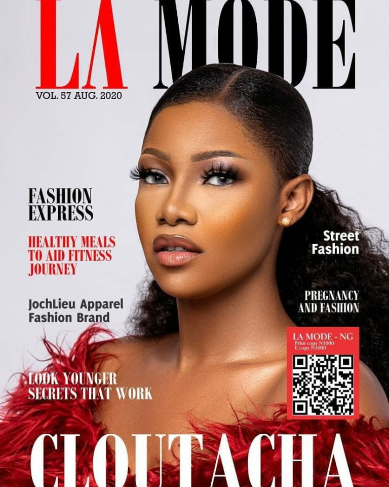 Tacha Is The Cover Girl for La Mode Magazine's August Issue
