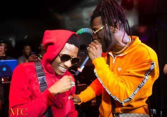 """You have nothing to prove again"" – Burna Boy tells Wizkid as they link up in London"